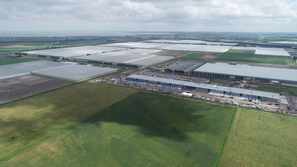 Luchtfoto Agriport